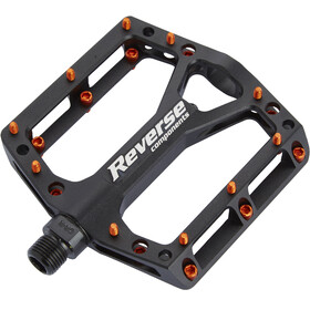 Reverse Black One Pedals black/orange